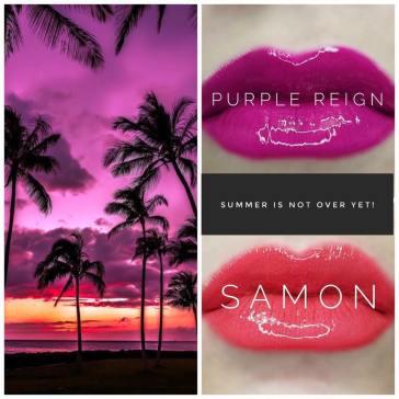 purple reign and samon