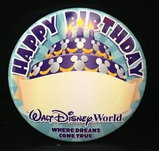 disney birthday pin